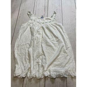 Lanz of Salzburg Nightgown half Length Sleeveless